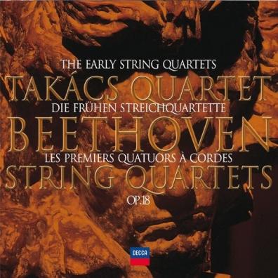 Takacs Quartet (Квартет Такача): Beethoven: The Early Quartets