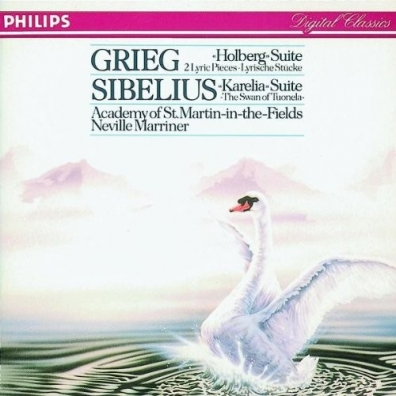 Sir Neville Marriner (Невилл Марринер): Sibelius: Karelia Suite; Swan Of Tuonela/ Grieg: Holberg Suite