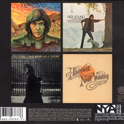 Neil Young (Нил Янг): Official Release Series Discs 1-4