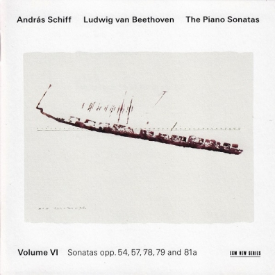 Beethoven/The Piano Sonatas Volume 6 Sonatas Opp. 54, 57, 78, 79 And 81A