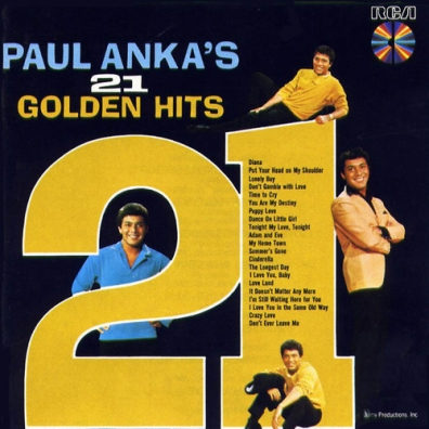 Paul Anka (Пол Анка): 21 Golden Hits