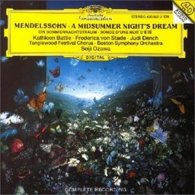 Seiji Ozawa (Сэйдзи Одзава): Mendelssohn: A Midsummer Night's Dream