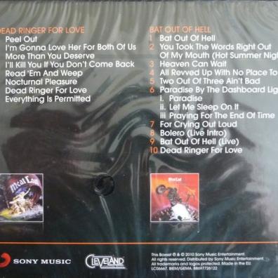 Meat Loaf (Мит Лоуф): Dead Ringer / Bat Out Of Hell