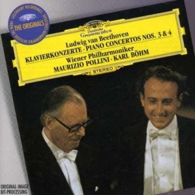 Maurizio Pollini (Маурицио Поллини): Beethoven: Piano Concertos Nos.3 & 4