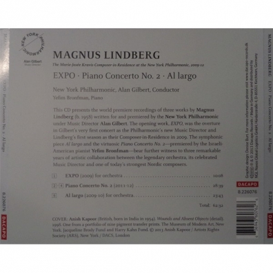 Lindberg: Expo/Piano Cto.2