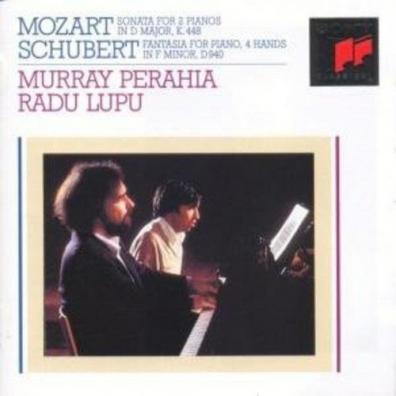 Radu Lupu Murray Perahia (Мюррей Перайя): Sonata In D Major For Two Piano