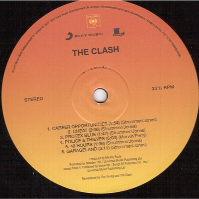 The Clash (Зе Клеш): The Clash