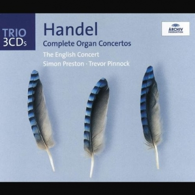 Simon Preston (Саймон Престор): Handel: The Organ Concertos