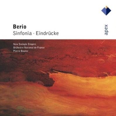 Pierre Boulez (Пьер Булез): Sinfonia & Eindrucke