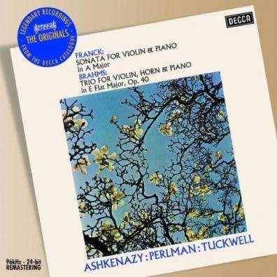 Perlman Ashkenazy Tuckwell: Brahms, Franck: Chamber Music