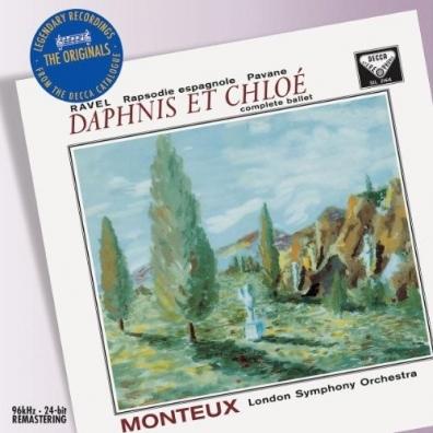 Pierre Monteux (Пьер Монтё): Ravel: Daphnis et Chloe