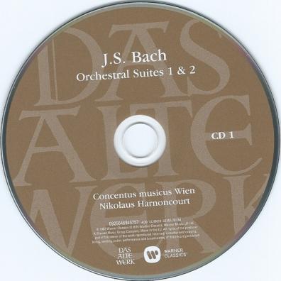 Nikolaus Harnoncourt (Николаус Арнонкур): Orchestral Suites 1-4