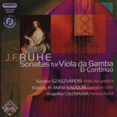 Szaszvarosi Sandor (ШандорСасвароши): Sonatas For Viola Da Gamba & Continu
