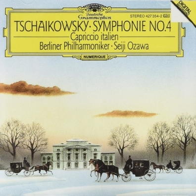 Seiji Ozawa (Сэйдзи Одзава): Tchaikovsky: Symphony No.4; Capriccio Italien