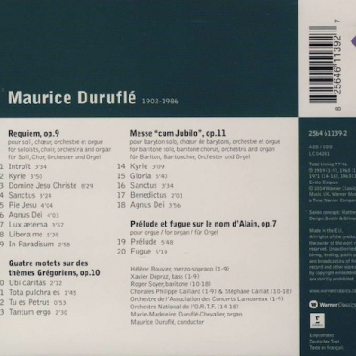 Maurice Durufle: Sacred Vocal Works