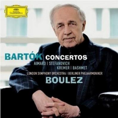 Pierre Boulez (Пьер Булез): Bartok: Concertos