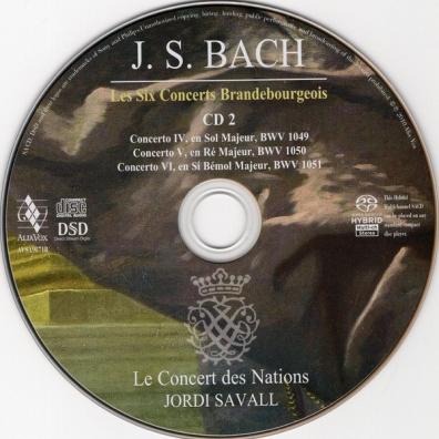 Johann Sebastian Bach (Иоганн Себастьян Бах): Brandenburg Concertos
