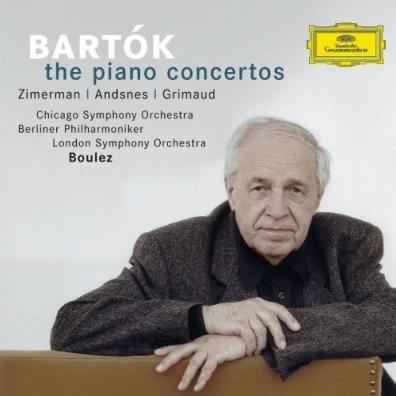 Pierre Boulez (Пьер Булез): Bartok: Piano Concertos