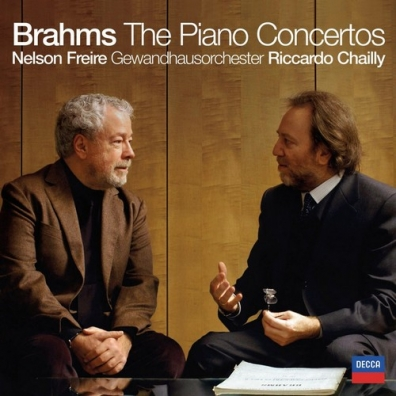 Nelson Freire (Нельсон Фрейре): Brahms: The Piano Concertos