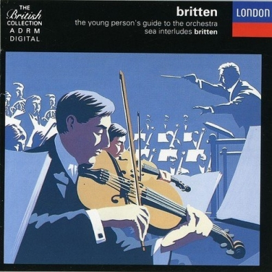 Richard Bonynge (Ричард Бонинг): Britten:The Young Person's Guide to the Orchestra;