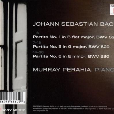 Murray Perahia (Мюррей Перайя): Partitas Nos. 1, 5 & 6