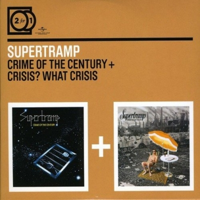 Supertramp (Супертрэм): Crime Of The Century/Crisis?
