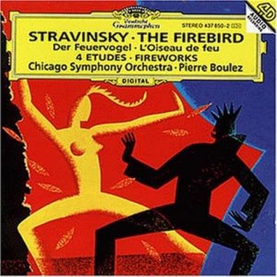 Pierre Boulez (Пьер Булез): Stravinsky: L'Oiseau de Feu; Feu d'artifice; Quatr