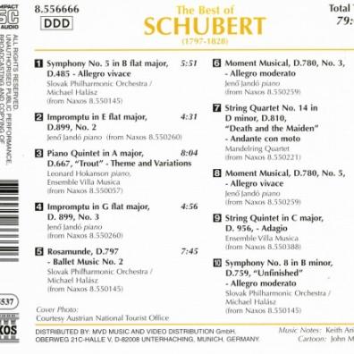 Franz Schubert (Франц Шуберт): The Best Of Schubert