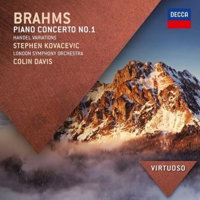 Sir Colin Davis (Колин Дэвис): Brahms: Piano Concerto No.1; Handel: Variations
