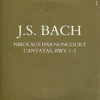 Nikolaus Harnoncourt (Николаус Арнонкур): Complete Sacred Cantatas