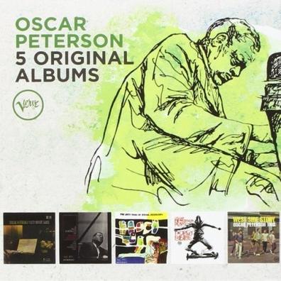 Oscar Peterson (Оскар Питерсон): 5 Original Albums: Verve