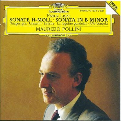 Maurizio Pollini (Маурицио Поллини): Liszt: Son B-Minor+Nuages