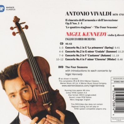 Nigel Kennedy (Найджел Кеннеди): Vivaldi: The Four Seasons  (25Th Anniversary Edition)
