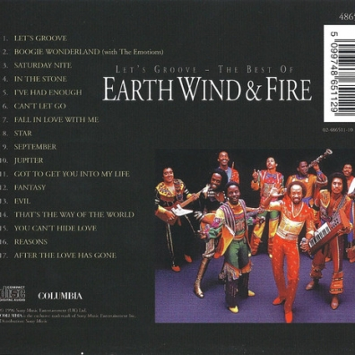 Earth, Wind & Fire (Ерс Винд энд Файр): Let's Groove - The Best Of