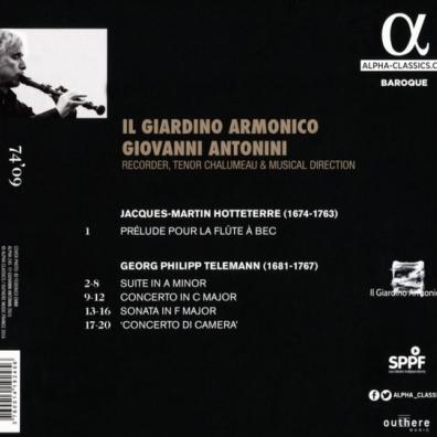 Telemann: Telemann - Music For Recorder