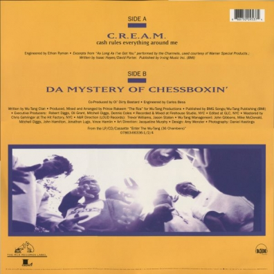Wu-Tang Clan (Ву Танг Клан): C.R.E.A.M. / The Mystery Of Chessboxin