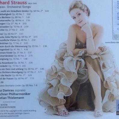 Diana Damrau (Диана Дамрау): Lieder