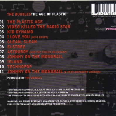 The Buggles (Зе Бугглес): The Age Of Plastic