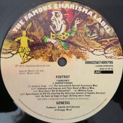 Genesis (Дженесис): Foxtrot