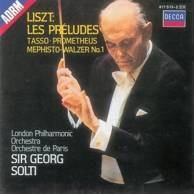 Sir Georg Solti (Георг Шолти): Liszt: Symphonic Poems