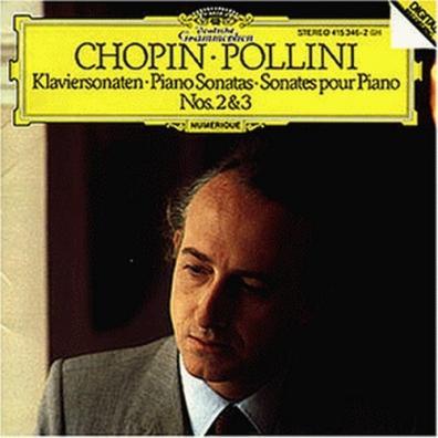 Maurizio Pollini: Chopin: Piano Sonatas Nos.2 & 3