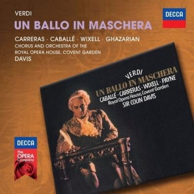 Sir Colin Davis (Колин Дэвис): Verdi: Un Ballo In Maschera