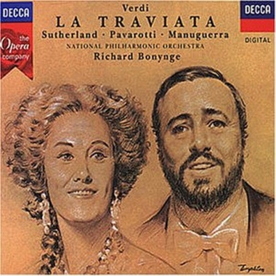Richard Bonynge (Ричард Бонинг): Verdi: La Traviata