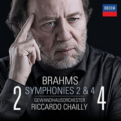 Riccardo Chailly (Рикардо Шайи): Brahms: Symphonies Nos. 2 & 4