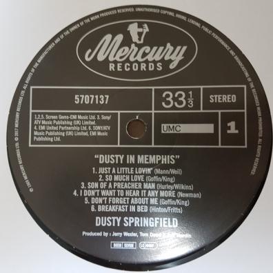 Dusty Springfield (Дасти Спрингфилд): Dusty In Memphis