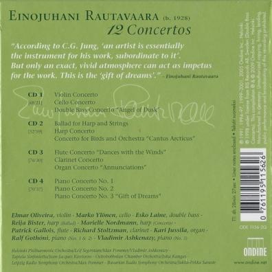 Einojuhani Rautavaara (Эйноюхани Раутаваара): Rautavaara: 12 Concertos
