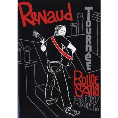 Renaud (Рено): Tournee Rouge Sang Paris Bercy