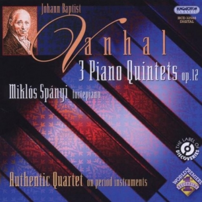 Spanyi Miklos (Миклош Шпаньи): 3 Piano Quintets