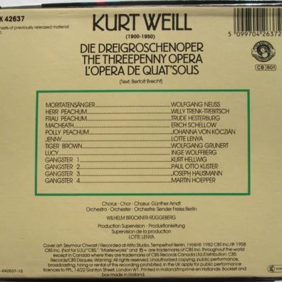 Kurt Weill (Курт Вайль): Die Dreigroschenoper