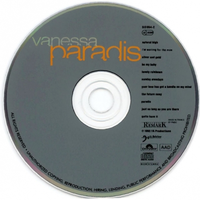 Vanessa Paradis (Ванесса Паради): Vanessa Paradis